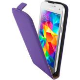 Mobiparts Premium Flip Case Samsung Galaxy S5 Mini Purple