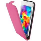 Mobiparts Premium Flip Case Samsung Galaxy S5 Mini Pink