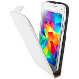 Mobiparts Premium Flip Case Samsung Galaxy S5 Mini White