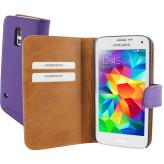 Mobiparts Premium Wallet Case Samsung Galaxy S5 Mini Purple