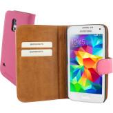 Mobiparts Premium Wallet Case Samsung Galaxy S5 Mini Pink