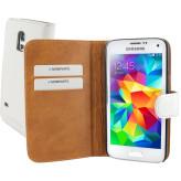 Mobiparts Premium Wallet Case Samsung Galaxy S5 Mini White