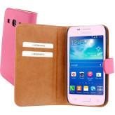 Mobiparts Premium Wallet Case Samsung Galaxy Core Plus Pink
