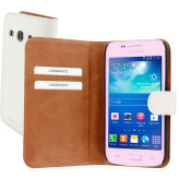 Mobiparts Premium Wallet Case Samsung Galaxy Core Plus White