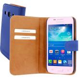 Mobiparts Premium Wallet Case Samsung Galaxy Core Plus Blue