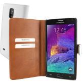 Mobiparts Premium Wallet Case Samsung Galaxy Note 4 White