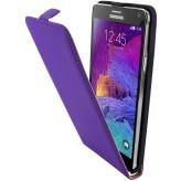 Mobiparts Premium Flip Case Samsung Galaxy Note 4 Purple