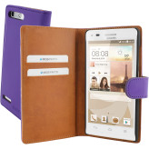 Mobiparts Premium Wallet Case Huawei Ascend G6 Purple