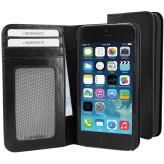 Mobiparts Excellent Wallet Case Apple iPhone 5/5S/SE Jade Black