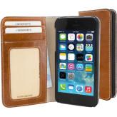 Mobiparts Excellent Wallet Case Apple iPhone 5/5S/SE Oaked Cognac