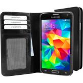 Mobiparts Excellent Wallet Case Samsung Galaxy S5 / S5+ Jade Black