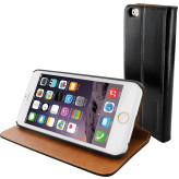 Mobiparts Luxury Book Case Apple iPhone 6/6S Classic Black