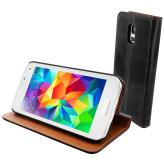 Mobiparts Luxury Book Case Samsung Galaxy S5 Mini Classic Black