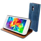 Mobiparts Luxury Book Case Samsung Galaxy S5 Mini Royal Blue
