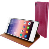 Mobiparts Luxury Book Case Huawei Ascend P7 Ruby Pink