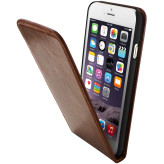 Mobiparts Luxury Flip Case Apple iPhone 6/6S Chic Brown
