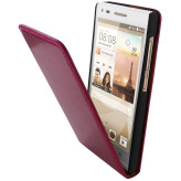 Mobiparts Luxury Flip Case Huawei Ascend G6 4G / P7 Mini Ruby Pink