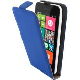 Mobiparts Premium Flip Case Nokia Lumia 530 Blue