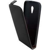 Mobiparts Premium Flip Case Motorola Moto G (2nd gen / 2014) Black