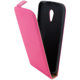Mobiparts Premium Flip Case Motorola Moto G (2nd gen / 2014) Pink