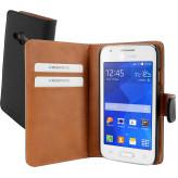 Mobiparts Premium Wallet Case Samsung Galaxy Trend 2 (Lite) Black