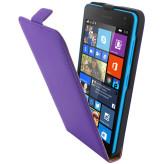 Mobiparts Premium Flip Case Microsoft Lumia 535 Purple