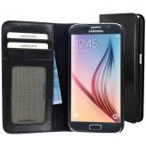 Mobiparts Excellent Wallet Case Samsung Galaxy S6 Jade Black