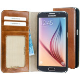 Mobiparts Excellent Wallet Case Samsung Galaxy S6 Oaked Cognac
