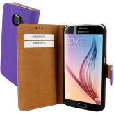 Mobiparts Premium Wallet Case Samsung Galaxy S6 Purple