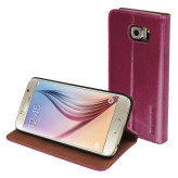 Mobiparts Luxury Book Case Samsung Galaxy S6 Ruby Pink