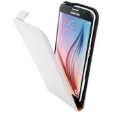 Mobiparts Premium Flip Case Samsung Galaxy S6 White