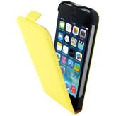 Mobiparts Premium Flip Case Apple iPhone 5/5S/SE Yellow