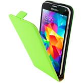 Mobiparts Premium Flip Case Samsung Galaxy S5 / S5+ / S5 Neo Green