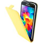 Mobiparts Premium Flip Case Samsung Galaxy S5 / S5+ / S5 Neo Yellow