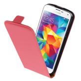 Mobiparts Premium Flip Case Samsung Galaxy S5 Mini Peach Pink
