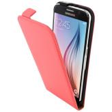 Mobiparts Premium Flip Case Samsung Galaxy S6 Peach Pink