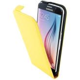 Mobiparts Premium Flip Case Samsung Galaxy S6 Yellow
