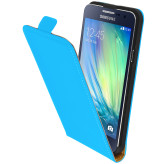 Mobiparts Premium Flip Case Samsung Galaxy A3 Light Blue