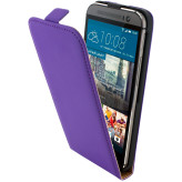 Mobiparts Premium Flip Case HTC One M9 Purple