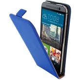 Mobiparts Premium Flip Case HTC One M9 Blue