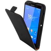 Mobiparts Premium Flip Case Sony Xperia E4 Black