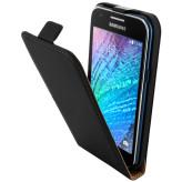 Mobiparts Premium Flip Case Samsung Galaxy J1 Black