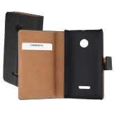 Mobiparts Premium Wallet Case Microsoft Lumia 532 Black