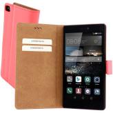 Mobiparts Premium Wallet Case Huawei P8 Peach Pink
