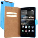 Mobiparts Premium Wallet Case Huawei P8 Light Blue