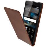 Mobiparts Luxury Flip Case Huawei P8 Chic Brown