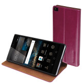 Mobiparts Luxury Book Case Huawei P8 Ruby Pink