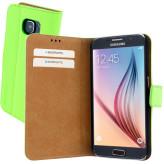 Mobiparts Premium Wallet Case Samsung Galaxy S6 Green
