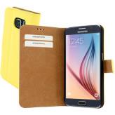 Mobiparts Premium Wallet Case Samsung Galaxy S6 Yellow