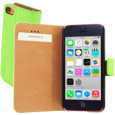 Mobiparts Premium Wallet Case Apple iPhone 5C Green